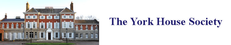 York House Society website banner showing the front of York House. Photo ©Yvonne Hewett
